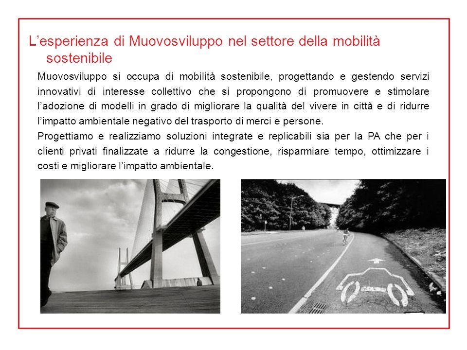 L'esperienza di Muovosviluppo nel settore della mobilità sostenibile
