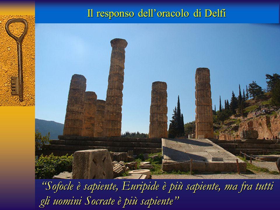 Il responso dell'oracolo di Delfi