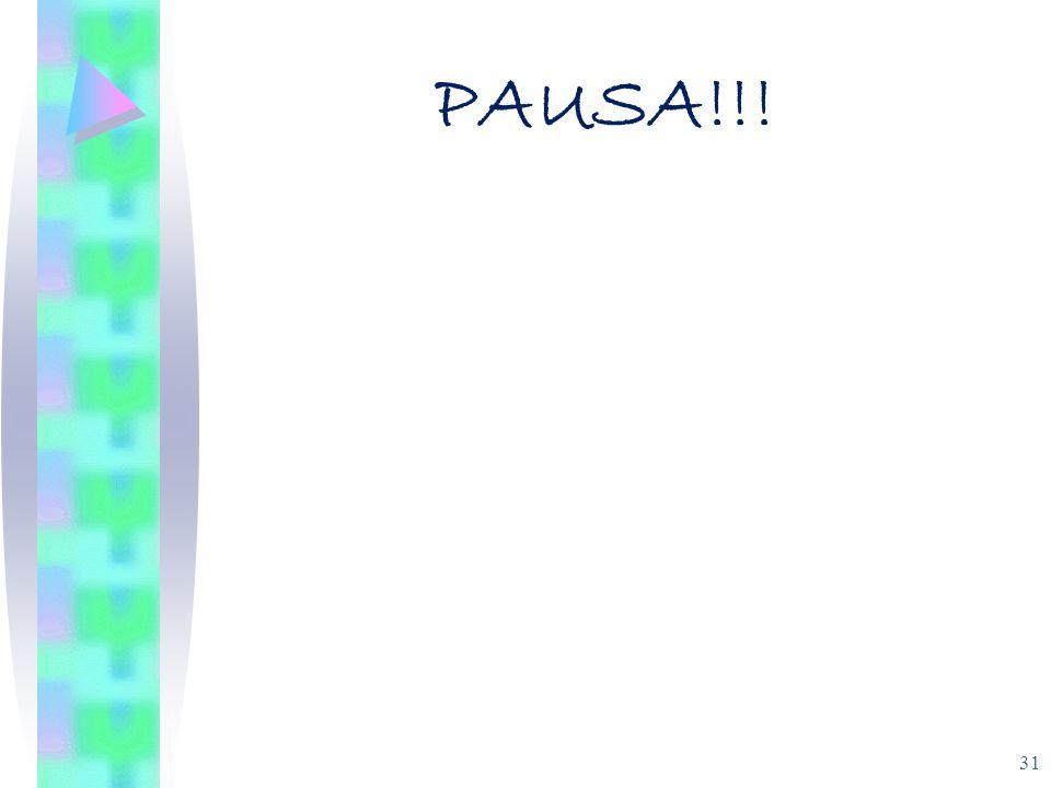PAUSA!!!