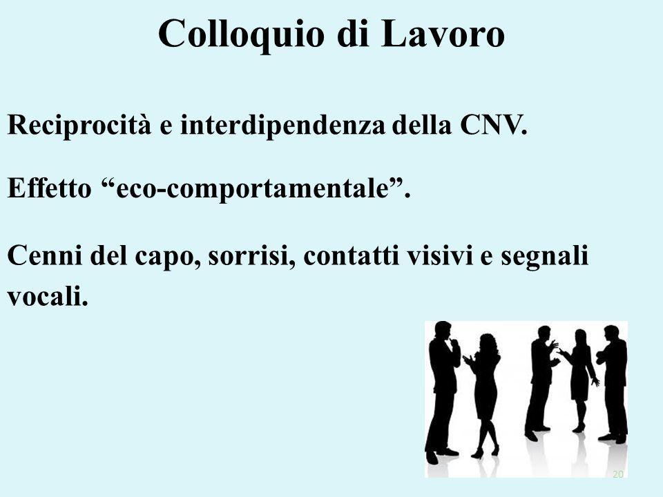 Colloquio di Lavoro Reciprocità e interdipendenza della CNV.