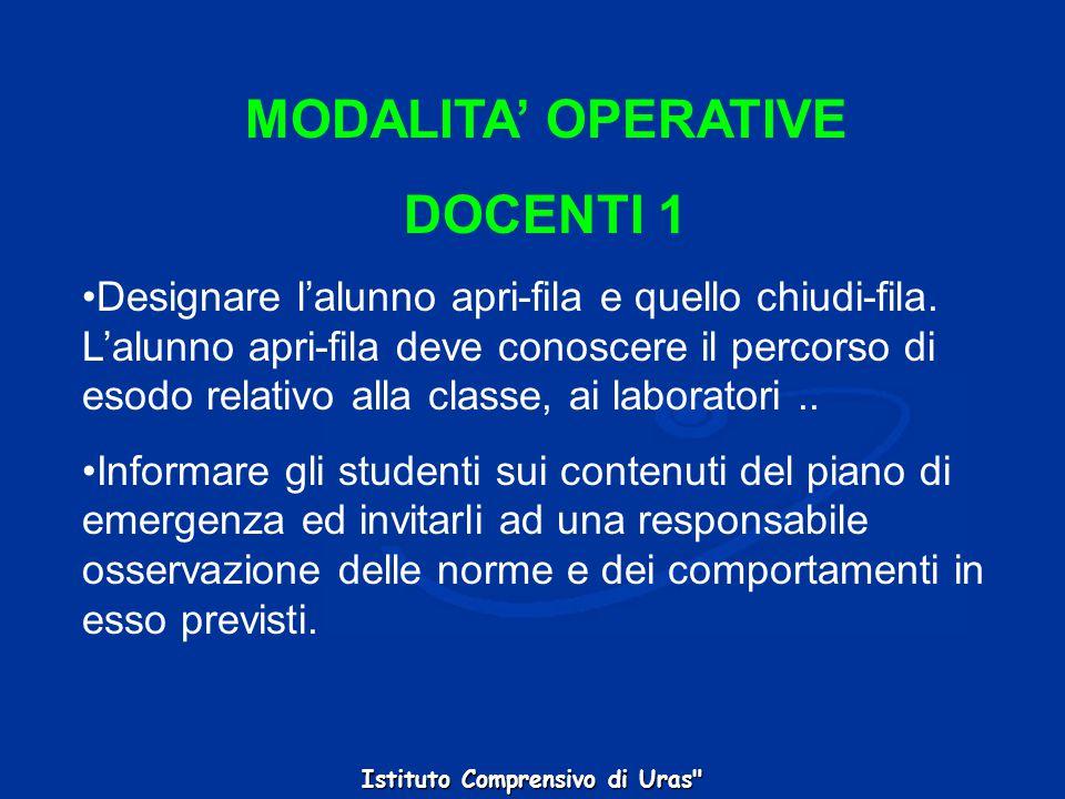 MODALITA' OPERATIVE DOCENTI 1