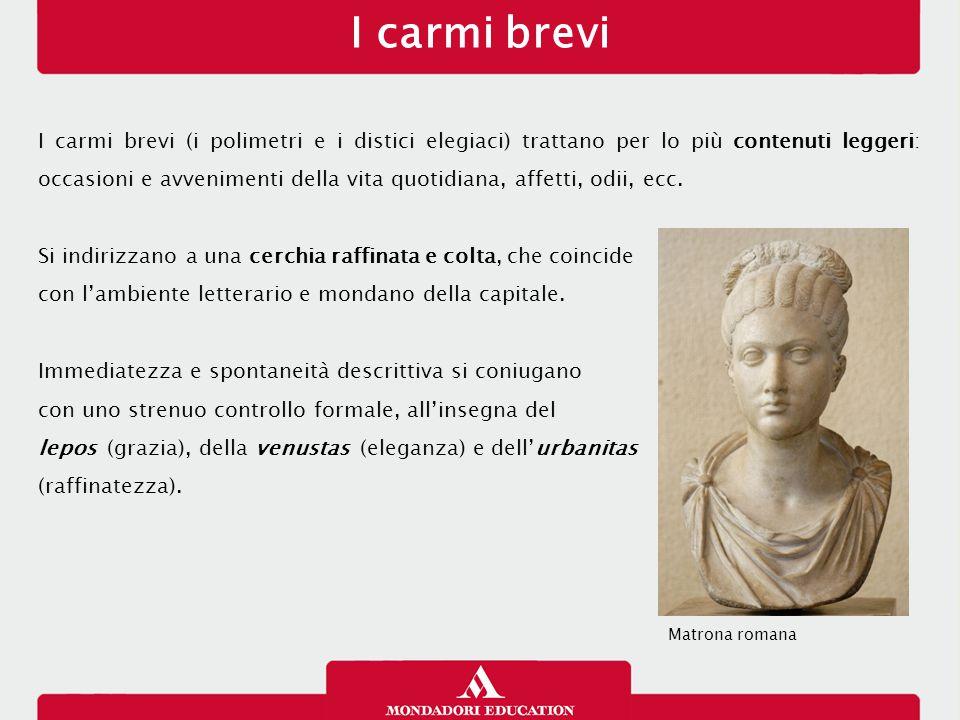 I carmi brevi 13/01/13.