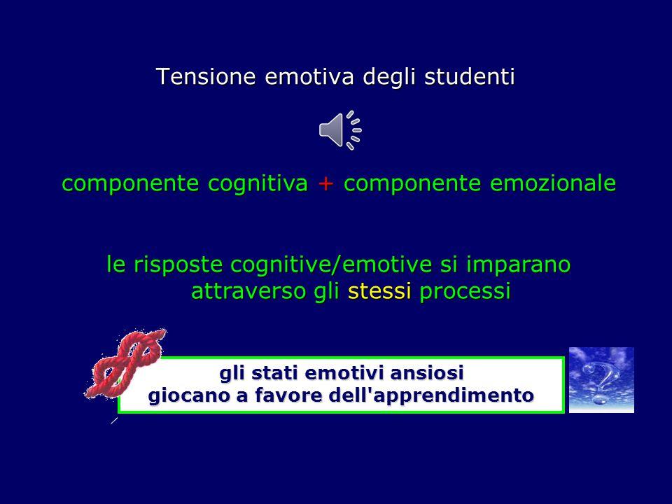Tensione emotiva degli studenti