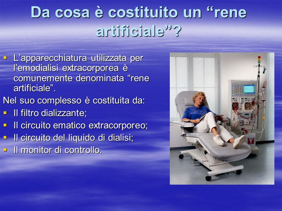 Da cosa è costituito un rene artificiale