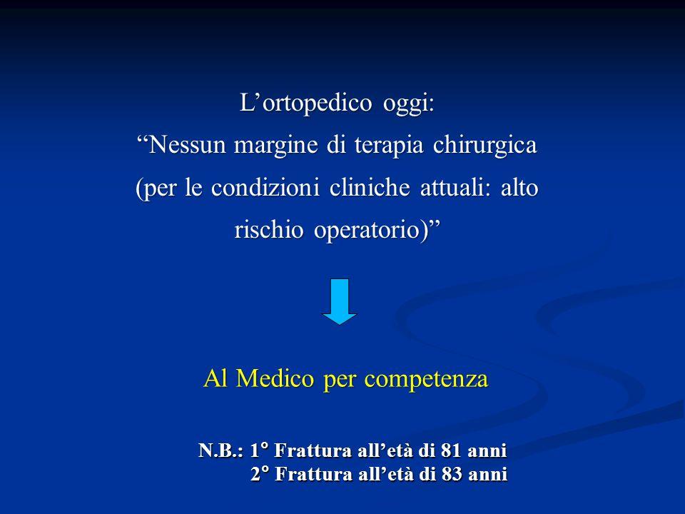 Nessun margine di terapia chirurgica