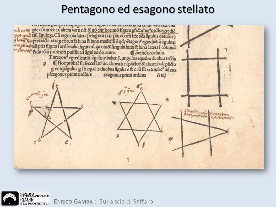 Pentagono ed esagono stellato