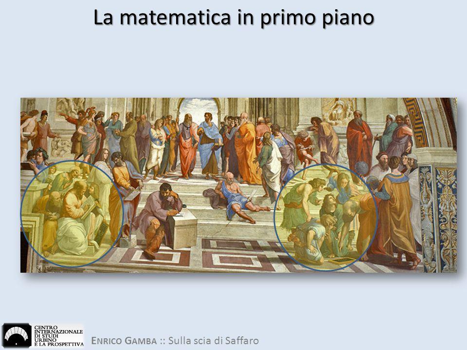 La matematica in primo piano