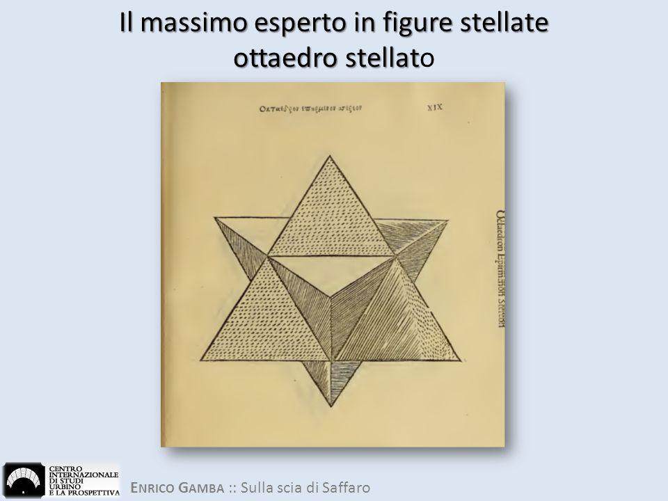 Il massimo esperto in figure stellate ottaedro stellato