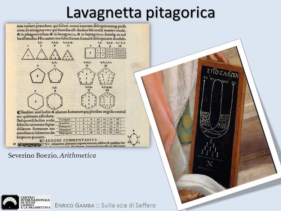 Lavagnetta pitagorica