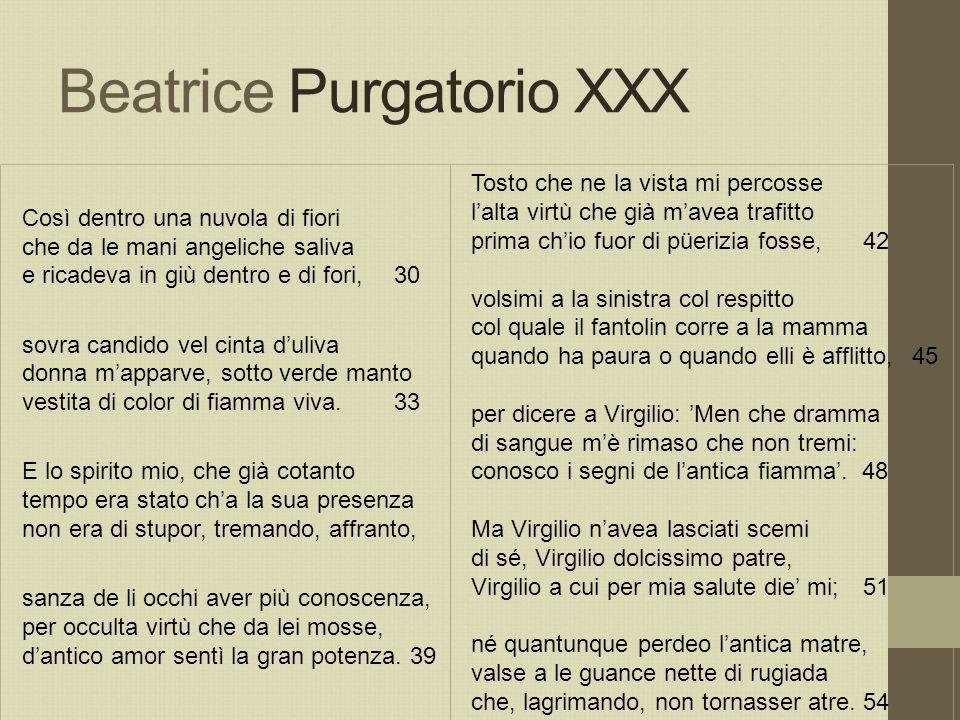 Beatrice Purgatorio XXX