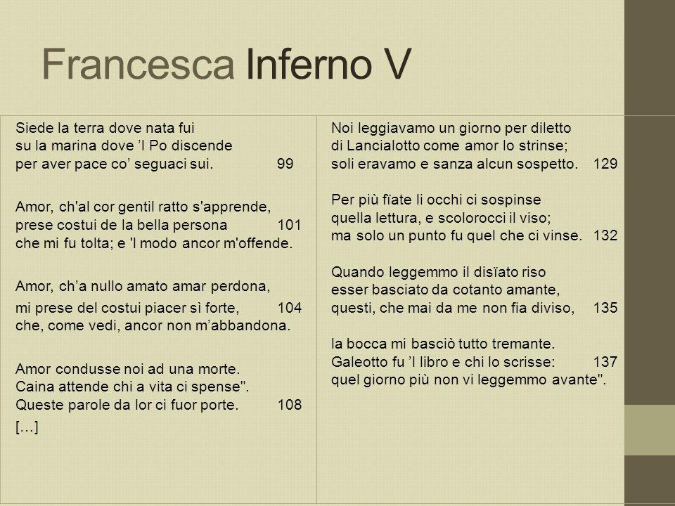 Francesca Inferno V