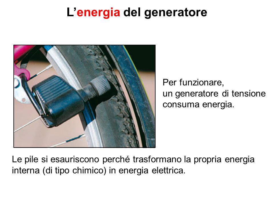 L'energia del generatore