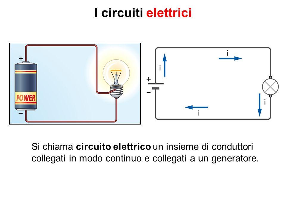 I circuiti elettrici Si chiama circuito elettrico un insieme di conduttori.
