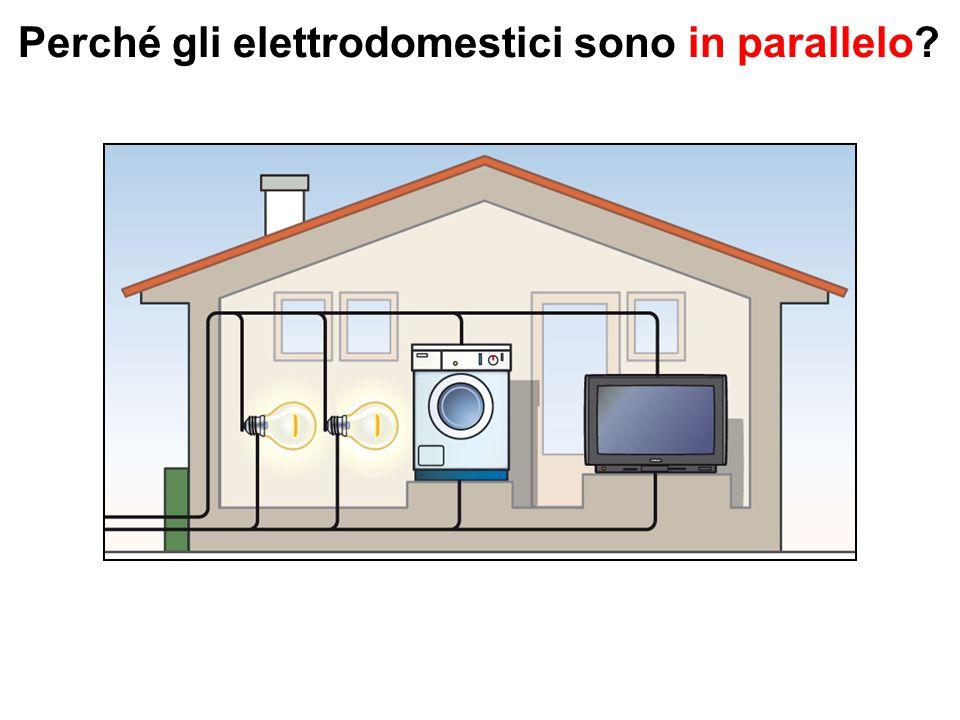 Perché gli elettrodomestici sono in parallelo
