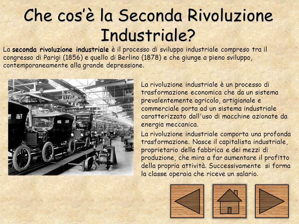 Che cos'è la Seconda Rivoluzione Industriale