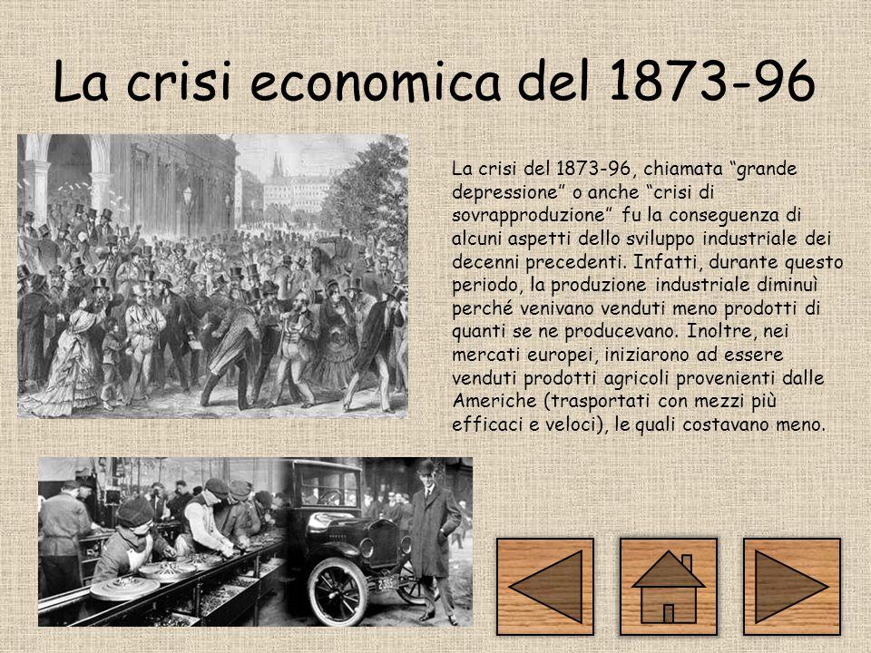 La crisi economica del 1873-96