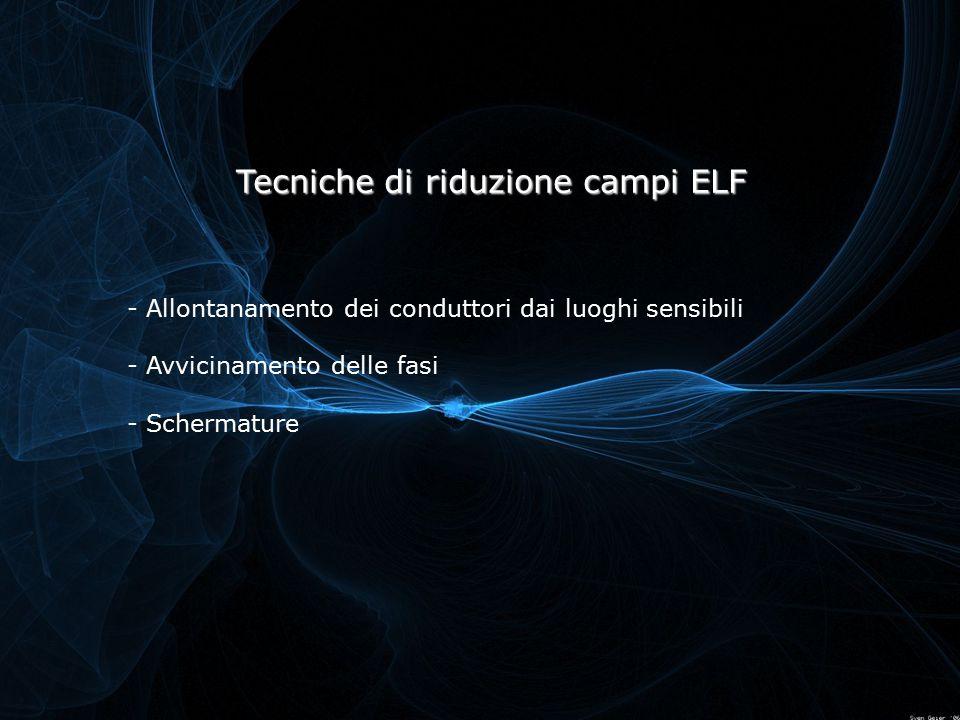 Tecniche di riduzione campi ELF