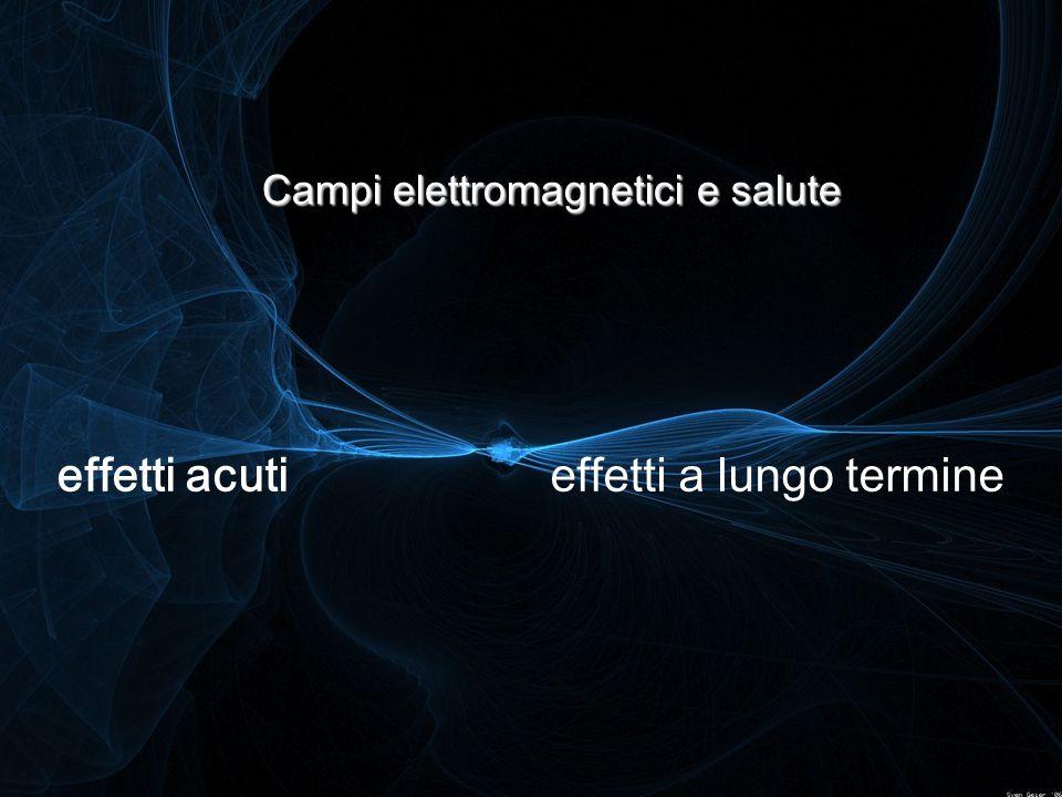 Campi elettromagnetici e salute