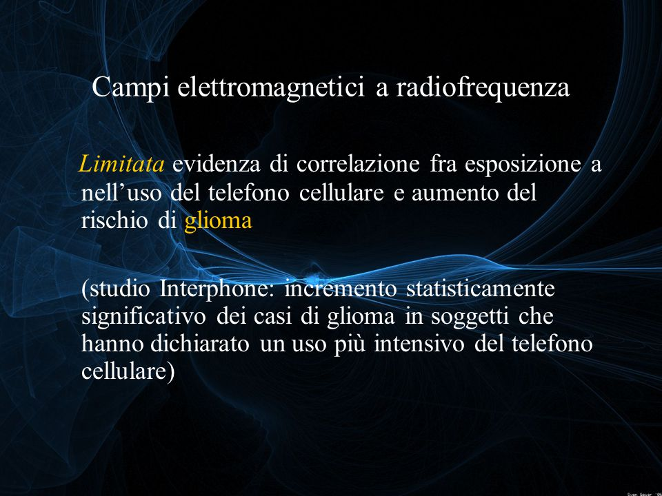Campi elettromagnetici a radiofrequenza