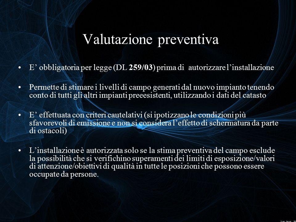 Valutazione preventiva