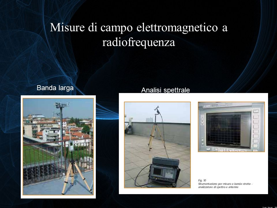 Misure di campo elettromagnetico a radiofrequenza
