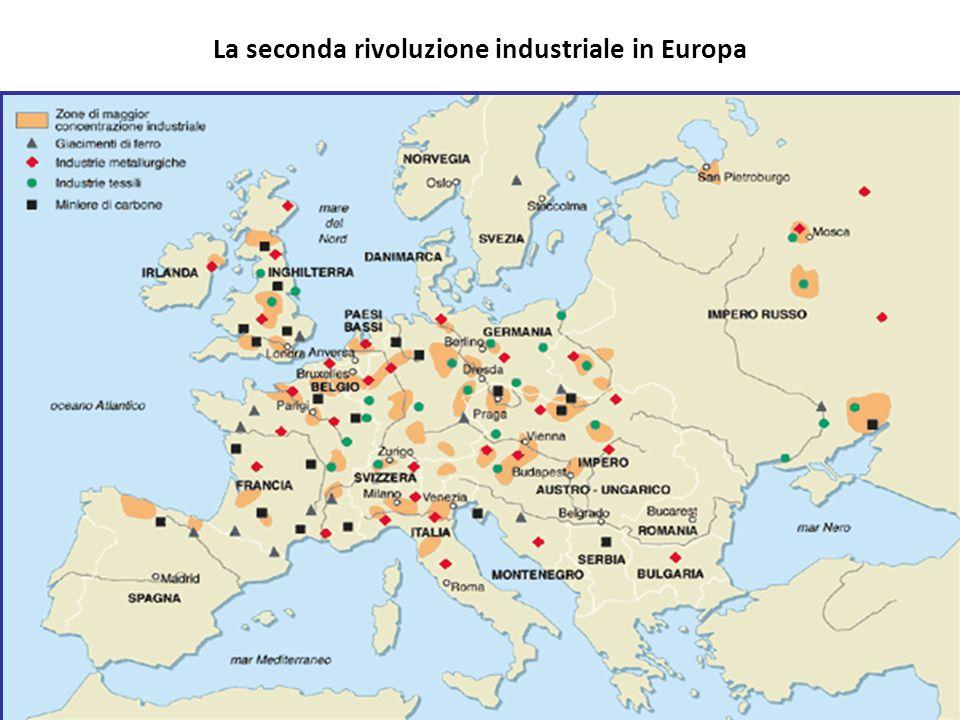 La seconda rivoluzione industriale in Europa