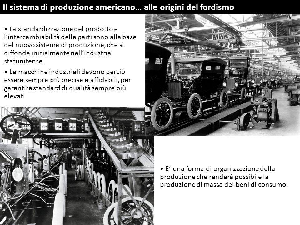 Il sistema di produzione americano… alle origini del fordismo