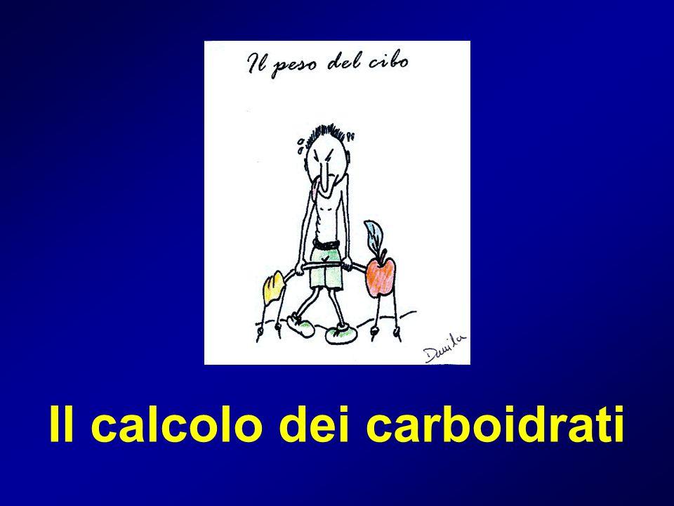 Il calcolo dei carboidrati