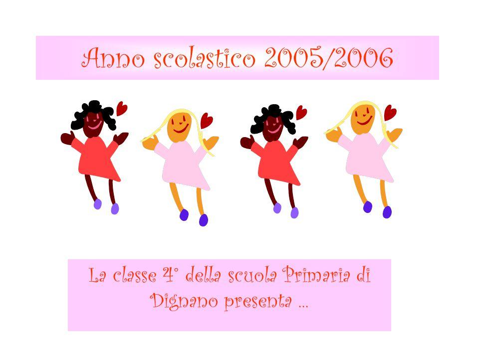 La classe 4° della scuola Primaria di Dignano presenta ...
