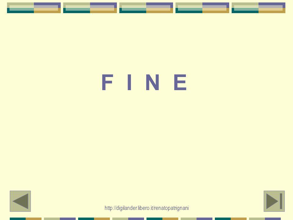 F I N E http://digilander.libero.it/renatopatrignani