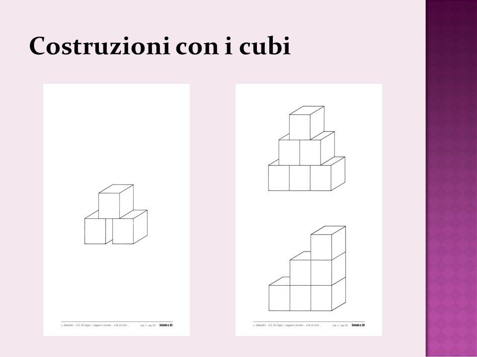 Costruzioni con i cubi