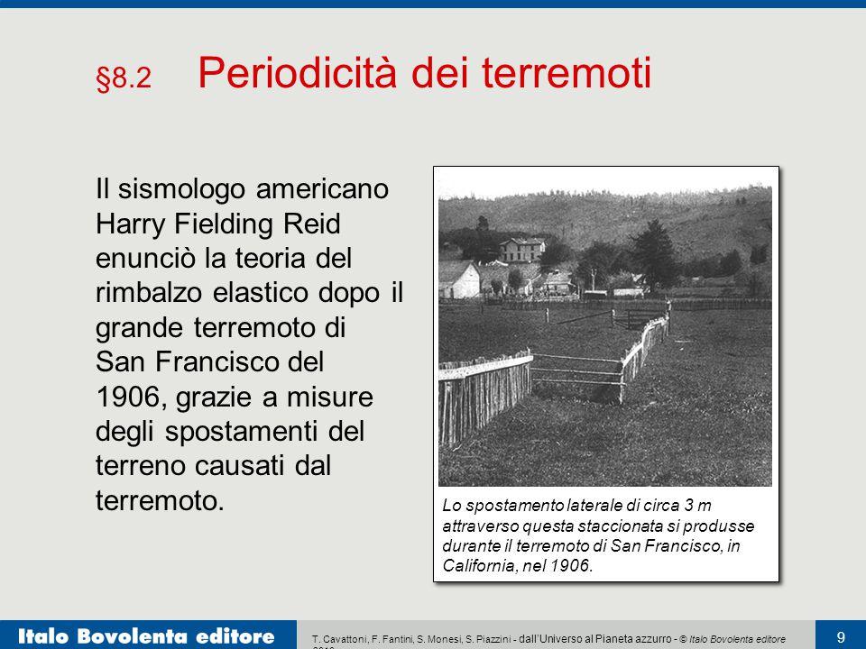 §8.2 Periodicità dei terremoti