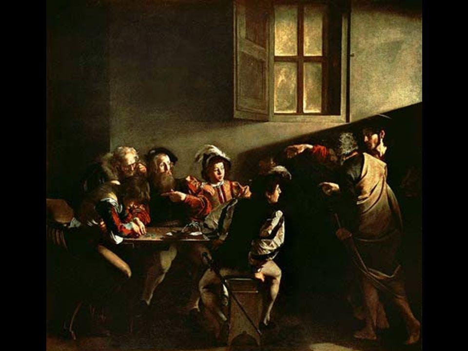 La vocazione di Matteo del Caravaggio