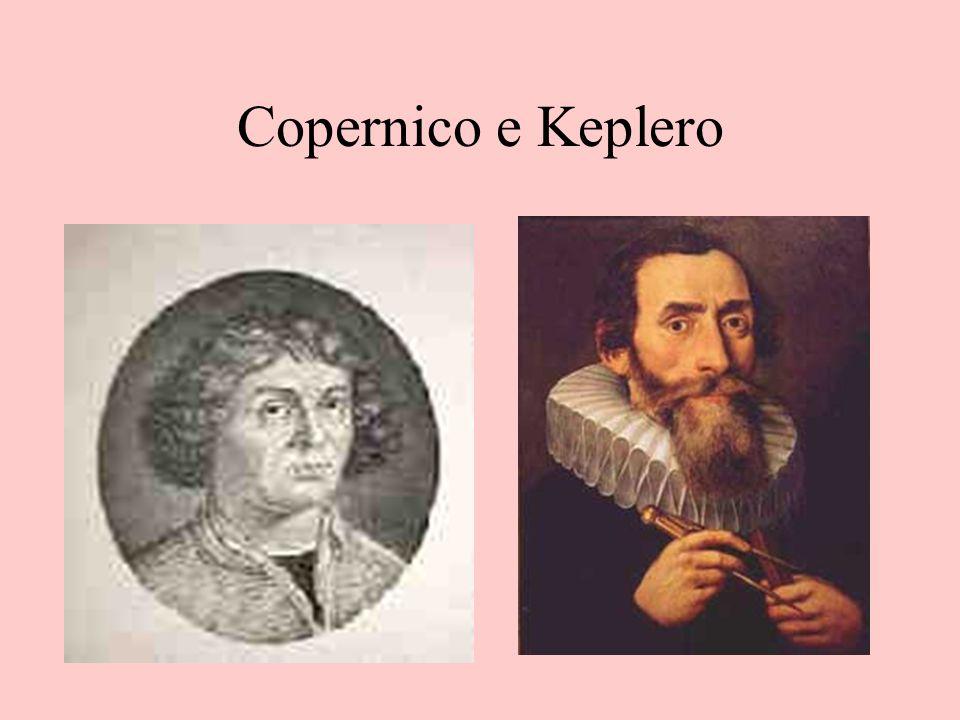 Copernico e Keplero Ritratti di Nicolò Copernico e di Giovanni Keplero