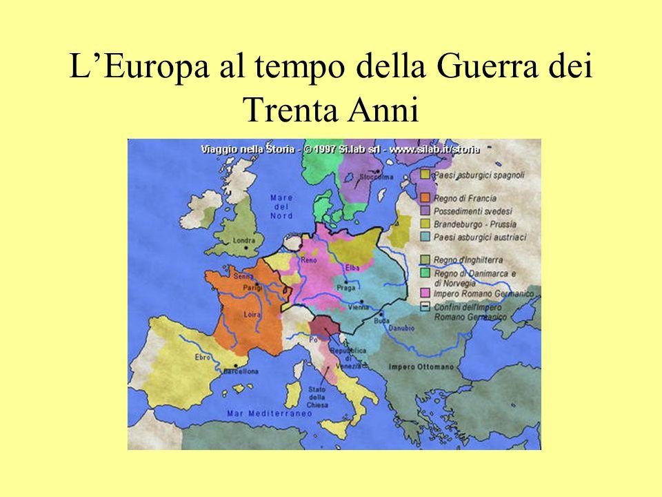 L'Europa al tempo della Guerra dei Trenta Anni