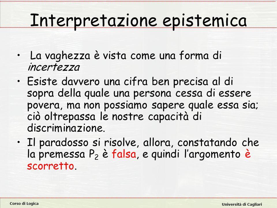 Interpretazione epistemica