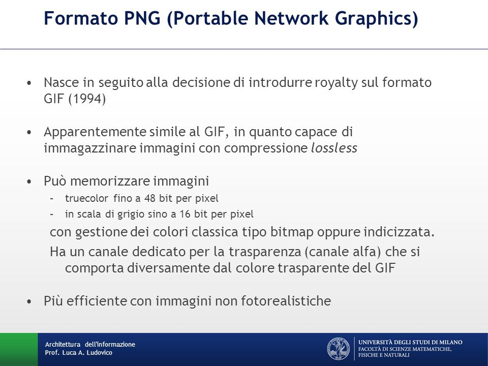 Formato PNG (Portable Network Graphics)
