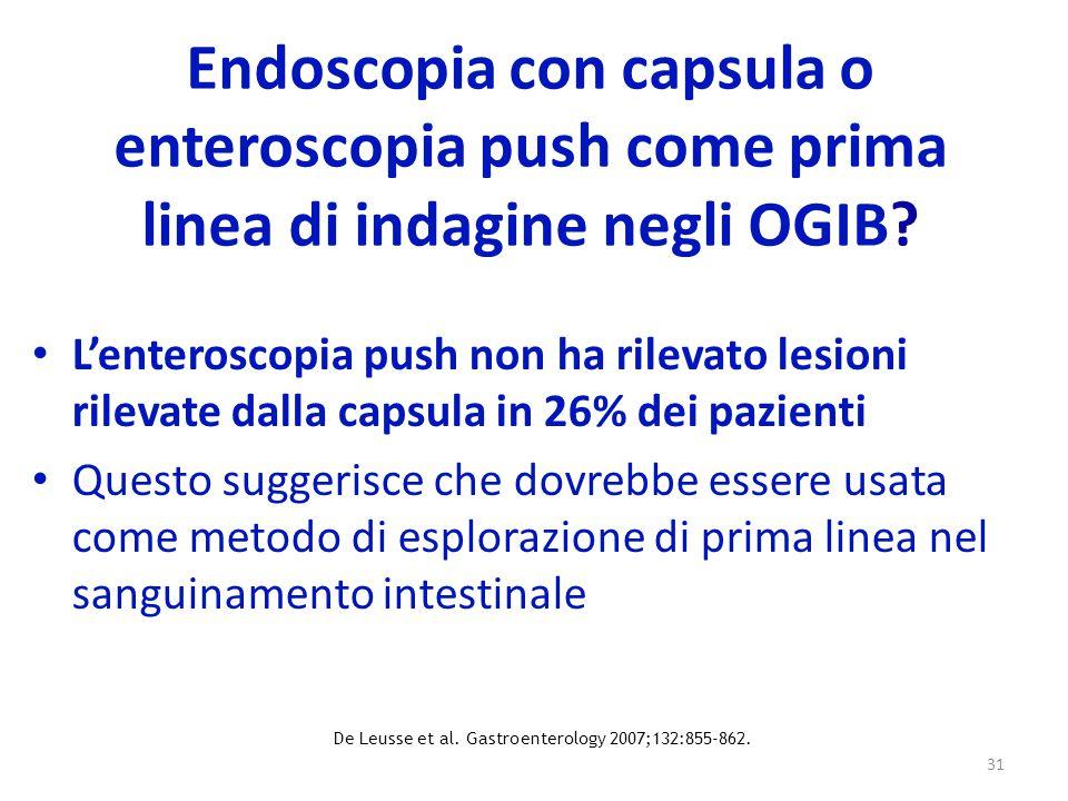De Leusse et al. Gastroenterology 2007;132:855-862.