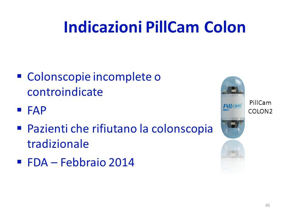 Indicazioni PillCam Colon