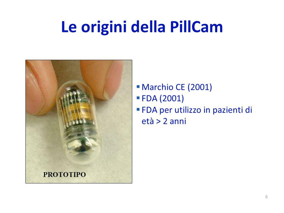 Le origini della PillCam