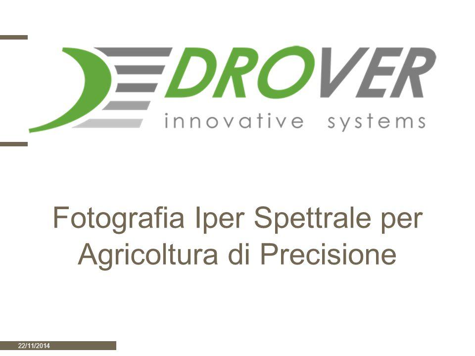 Fotografia Iper Spettrale per Agricoltura di Precisione