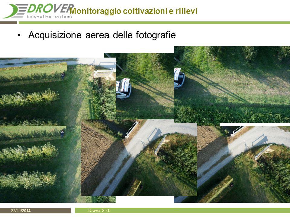 Monitoraggio coltivazioni e rilievi