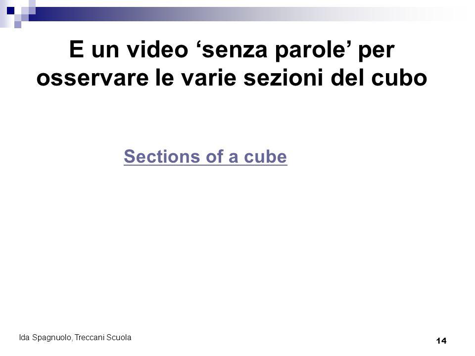 E un video 'senza parole' per osservare le varie sezioni del cubo
