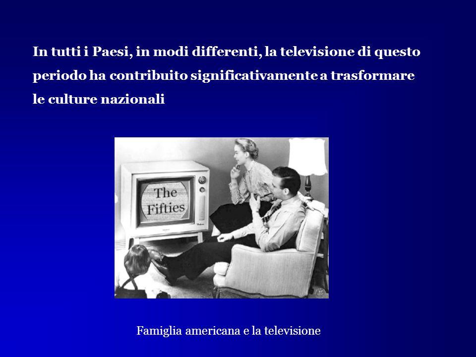 Famiglia americana e la televisione