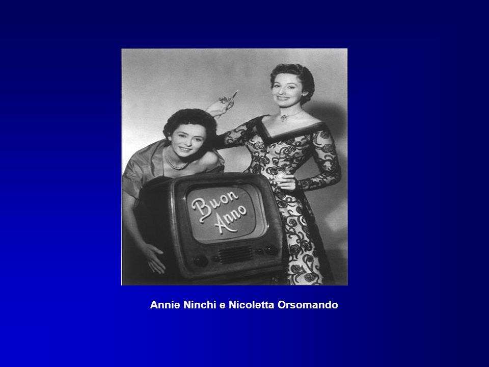 Annie Ninchi e Nicoletta Orsomando
