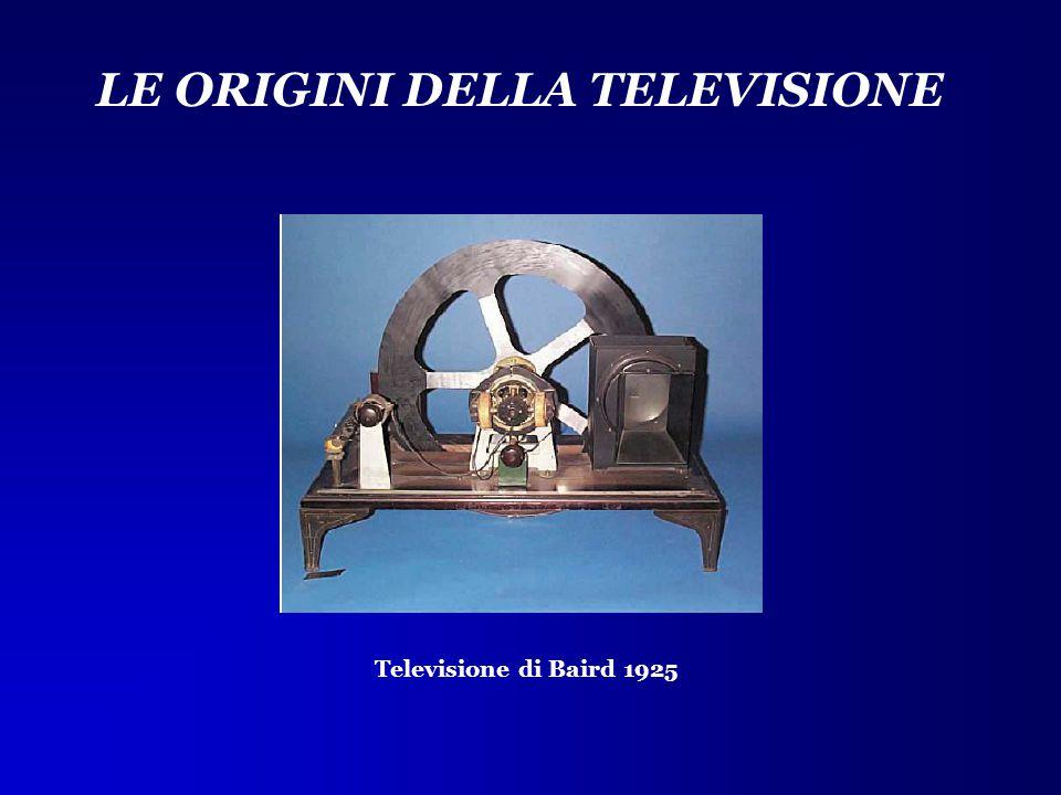 LE ORIGINI DELLA TELEVISIONE