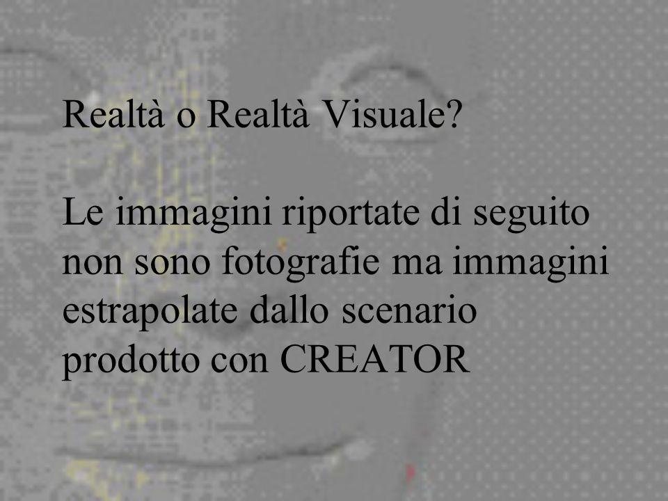 Realtà o Realtà Visuale