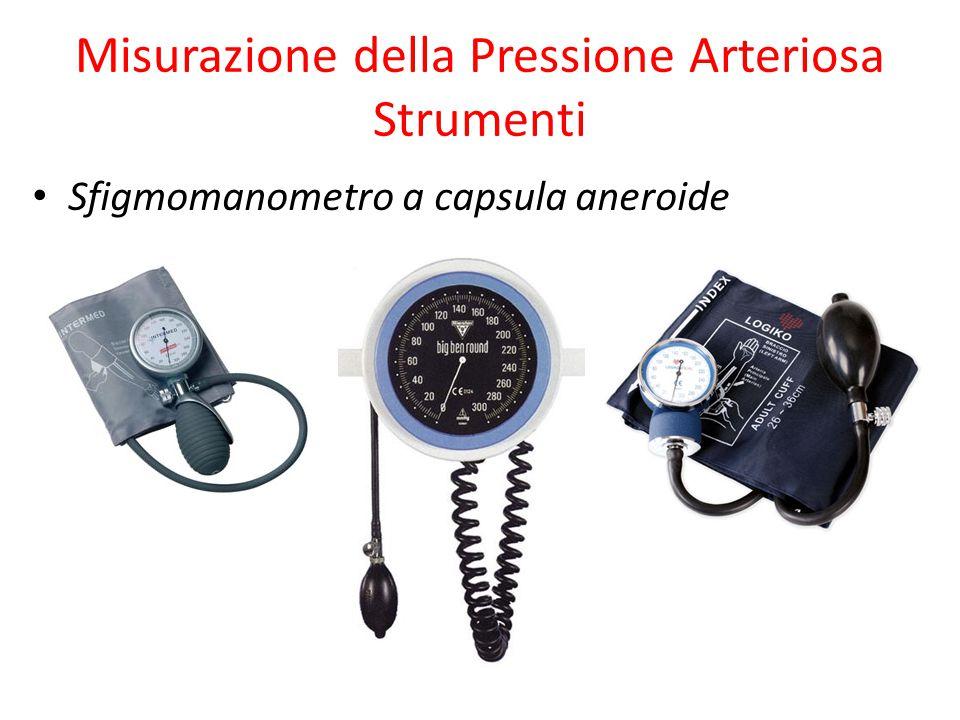 Misurazione della Pressione Arteriosa Strumenti