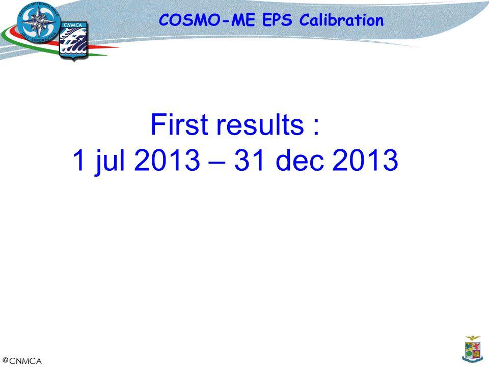 COSMO-ME EPS Calibration