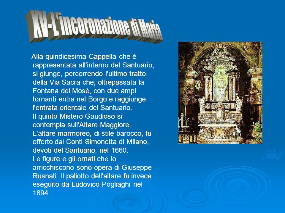 XV-L incoronazione di Maria